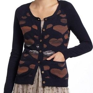 [Anthropologie] Lovisa heart cardigan #P03